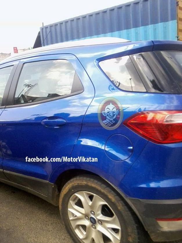 Ford EcoSport (Spied) - 002