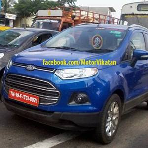 Ford EcoSport (Spied)