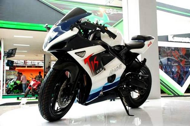 2012 TVS Apache Full-Fairing front
