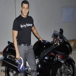 Salman Khan gifted with Black Suzuki Hayabusa
