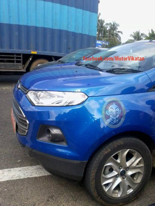 Ford EcoSport (Spied) - 001