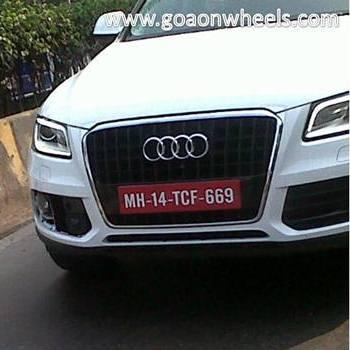 Audi Q5 facelift (spied image)