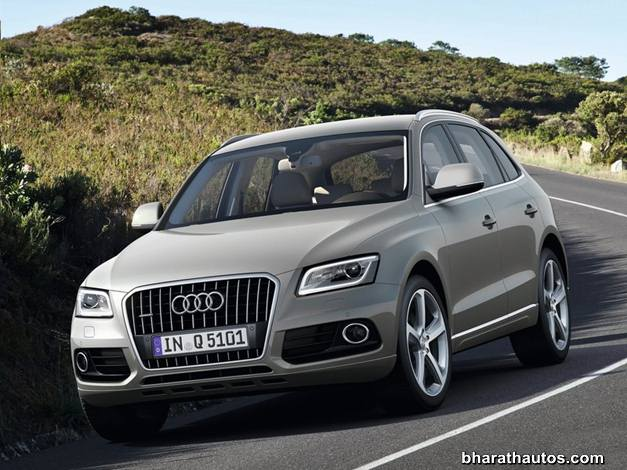 Audi Q5 facelift - FrontView