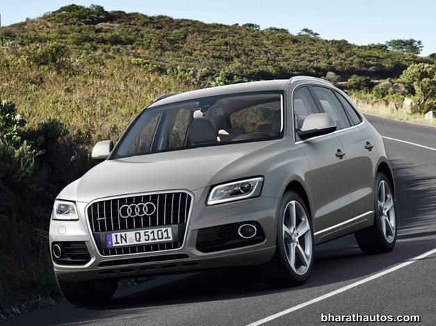 Audi Q5 facelift - FrontView