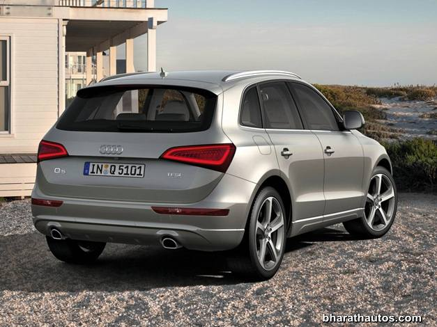 Audi Q5 facelift - RearView