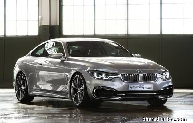 BMW 4-Series Coupe Concept - ExteriorView