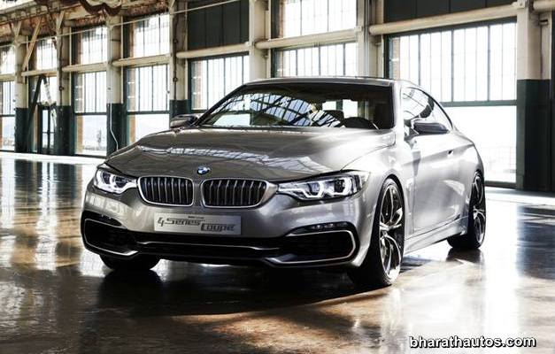BMW 4-Series Coupe Concept - FrontView
