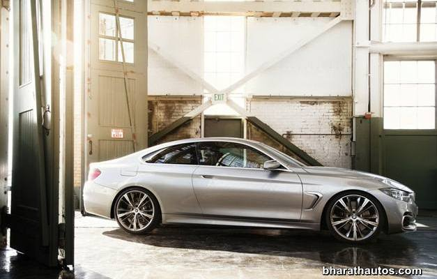BMW 4-Series Coupe Concept - SideView
