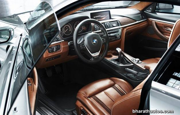 BMW 4-Series Coupe Concept - InteriorView