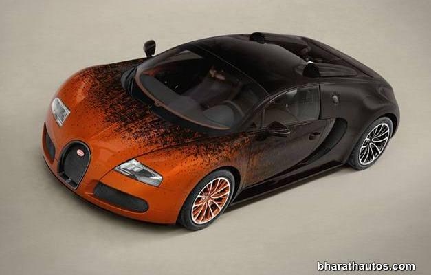 Bugatti Veyron Grand Sport Bernar Venet - FrontView