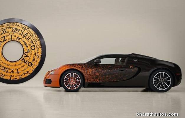 Bugatti Veyron Grand Sport Bernar Venet - LeftSideView