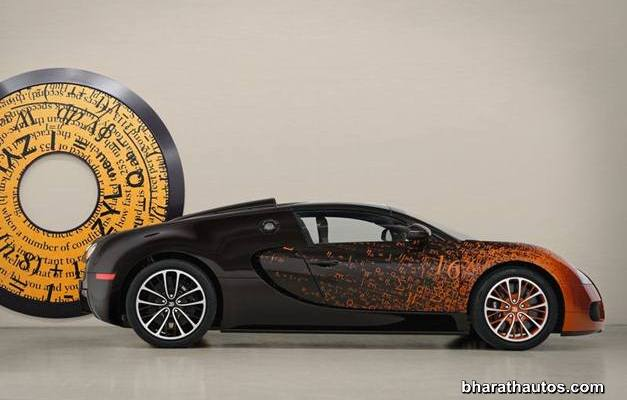 Bugatti Veyron Grand Sport Bernar Venet - RightSideView
