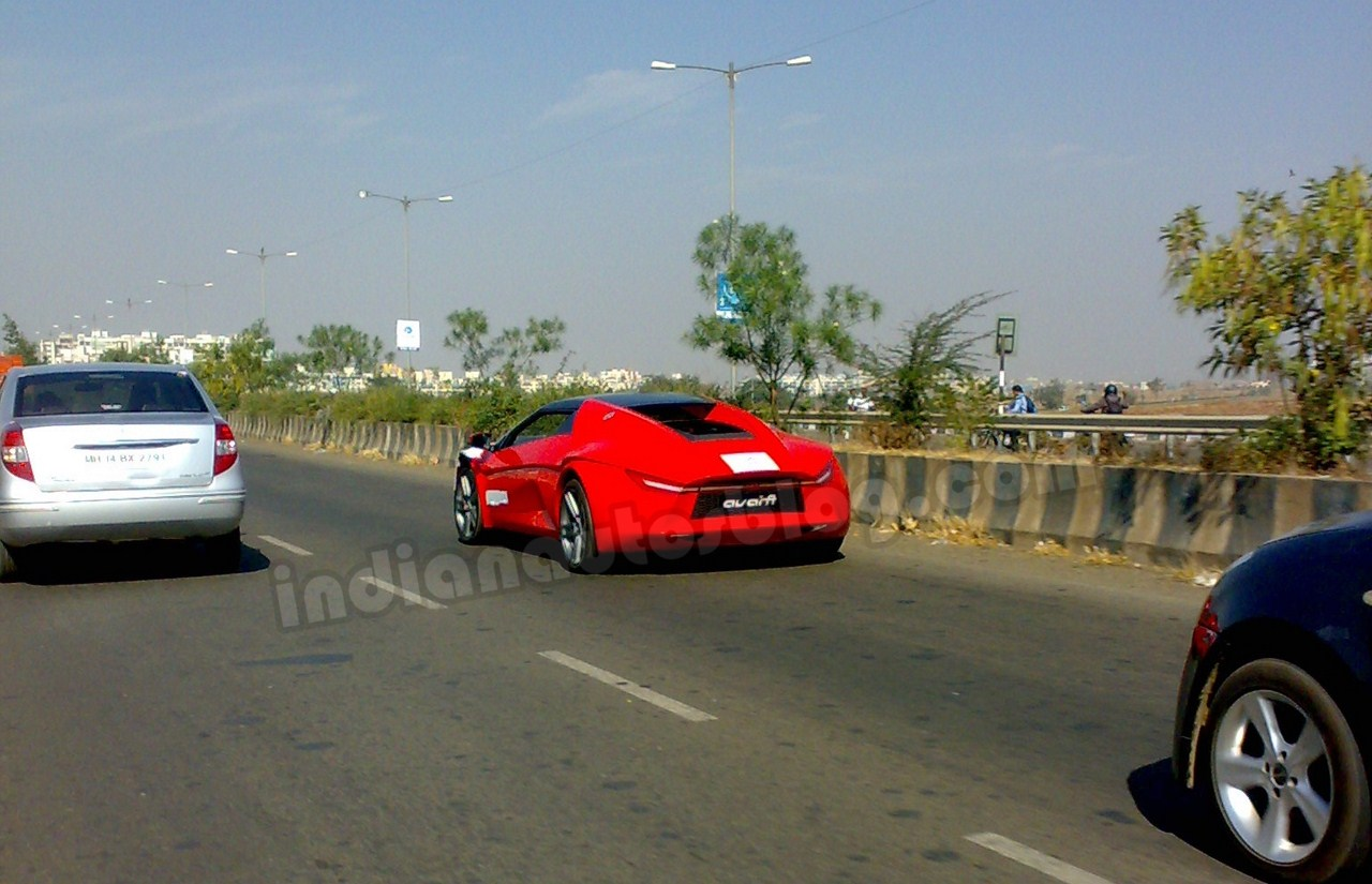 spied dc avanti caught testing in pune. Black Bedroom Furniture Sets. Home Design Ideas