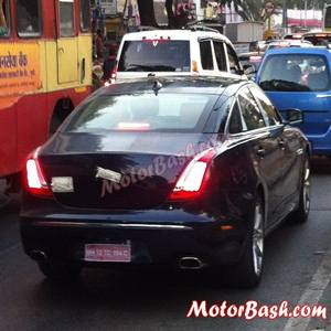 Jaguar XJ Ultimate edition (spied)