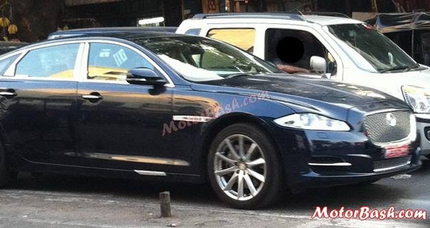 Jaguar XJ Ultimate edition (spied) - FrontView