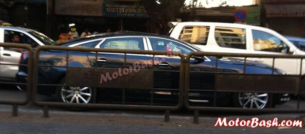 Jaguar XJ Ultimate edition (spied) - SideView