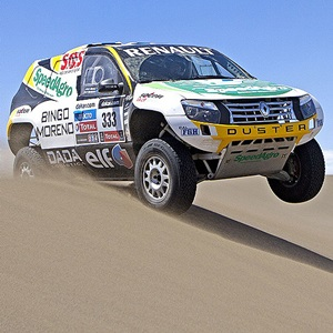 2013 Dakar Rally Renault Duster
