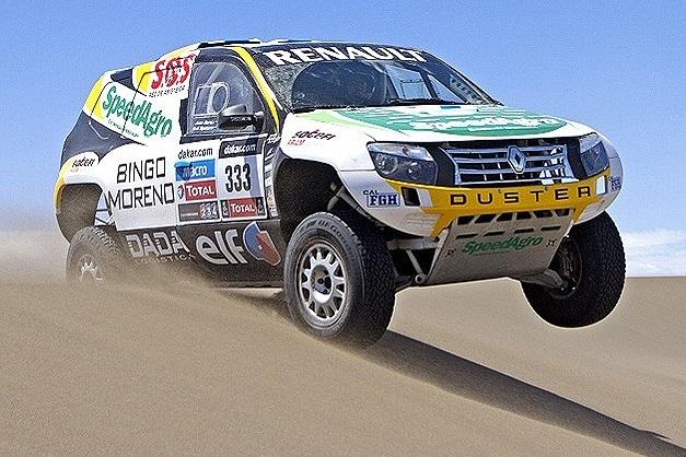 2013 Dakar Rally Renault Duster