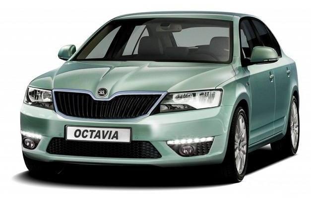 2013 Skoda Octavia (rendered image)