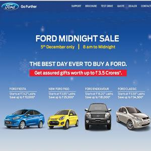 Ford Midnight Sale
