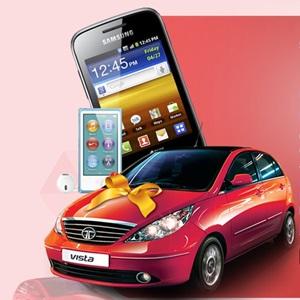 Tata Vista exciting promotion contest