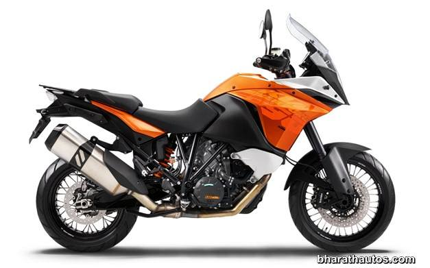2013 KTM 1190 Adventure Touring Motorcycle - SideView