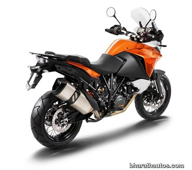 2013 KTM 1190 Adventure Touring Motorcycle - RearView