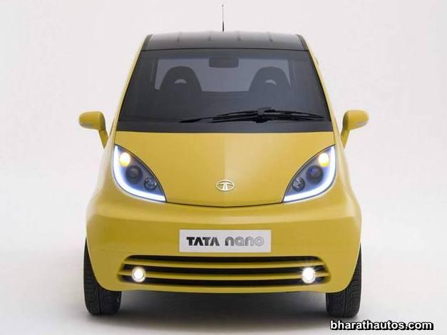Tata Nano Europa - Front-end