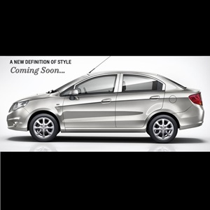 2013 Chevrolet Sail Sedan Teaser