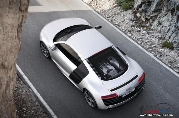 New Audi R8 - TopView