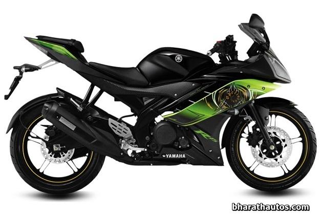 New Yamaha R15 V2.0 - Thundering Green