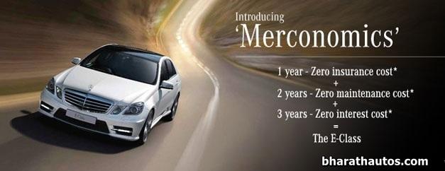 Mercedes-Benz introduced 'Merconomics' in India