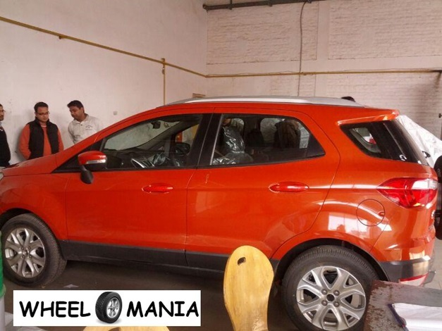 Ford EcoSport Compact SUV - SideView