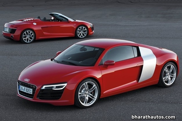 2013 Audi R8 Coupe & Convertible