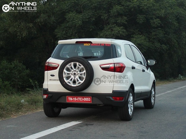 2013 Ford EcoSport Compact SUV - RearView