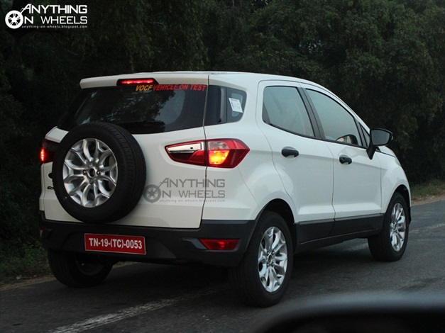 2013 Ford EcoSport Compact SUV - SideView2