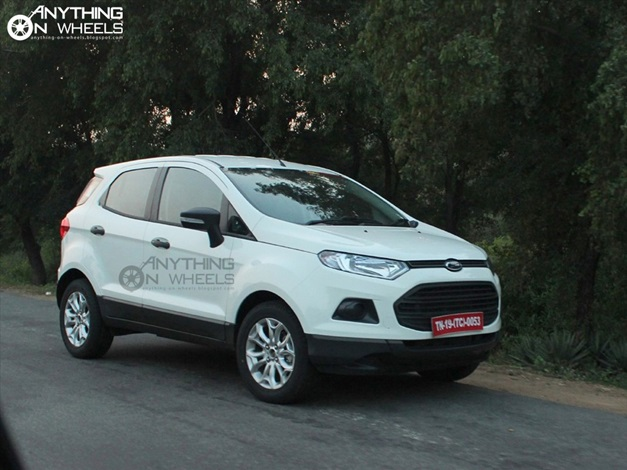 2013 Ford EcoSport Compact SUV - FrontView