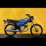 100cc Honda H100 was on sale in 1988 in Britain
