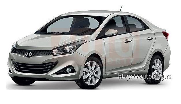 Hyundai i15 sedan - FrontView