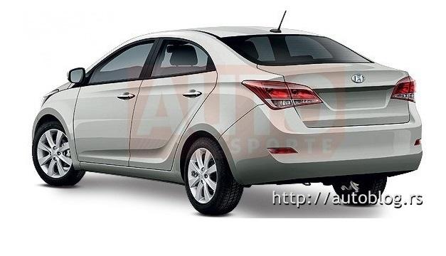 Hyundai i15 sedan - RearView