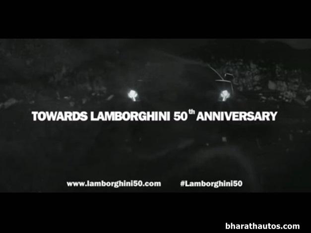 Lamborghini releases 50th anniversary teaser video