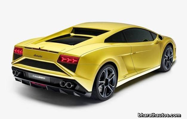 2013 Lamborghini Gallardo Rearview Bharathautos Automobile