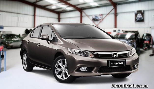 honda begins testing 2013 civic sedan in india. Black Bedroom Furniture Sets. Home Design Ideas