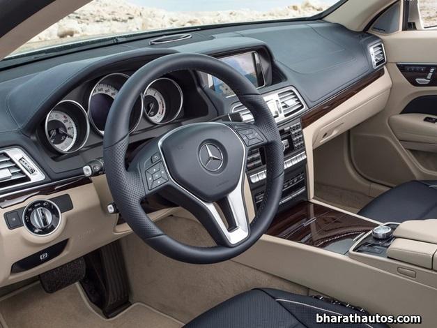2014 Mercedes E-Class  Cabriolet - InteriorView