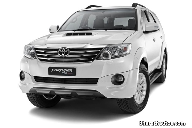 Toyota Introduces Fortuner With A New 5 Speed Automatic