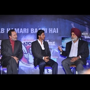 SRK inaugurates Toyota University T-20 Cricket Tournament