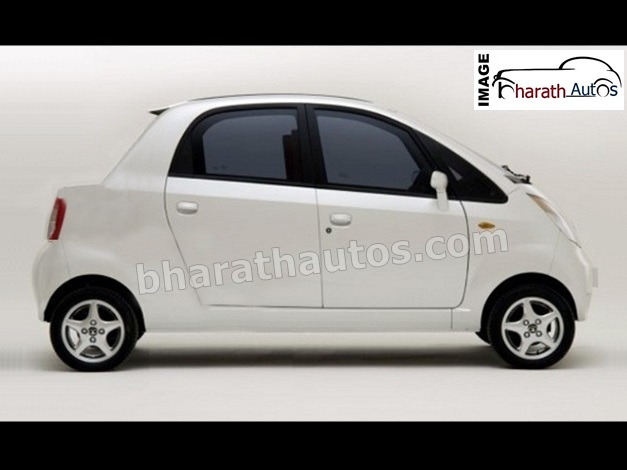 Tata Nano Compact Sedan - Rendered Image 1