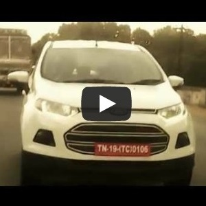 Ford EcoSport with DRLs