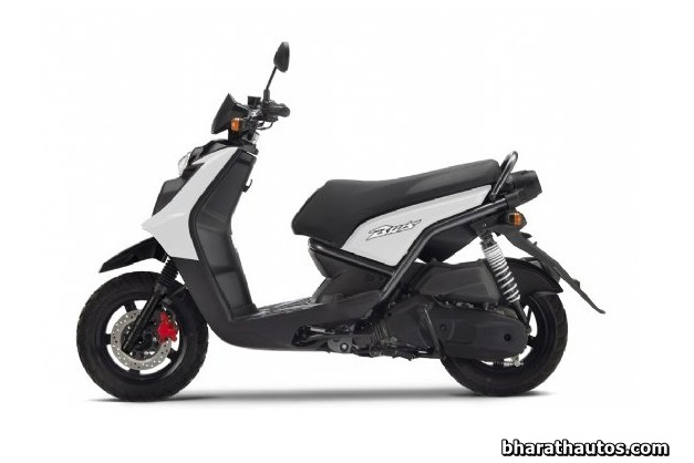 Yamaha BWS 125 scooter - SideView