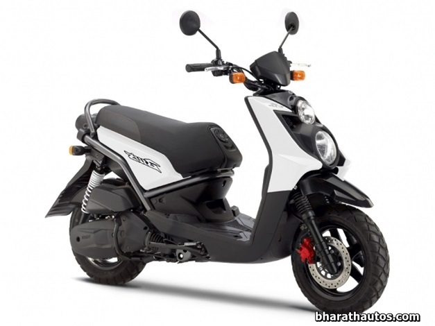 Yamaha BWS 125 scooter - FrontView